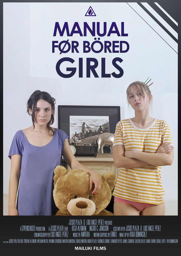MANUAL FOR BÖRED GIRLS - Posters by Ernex