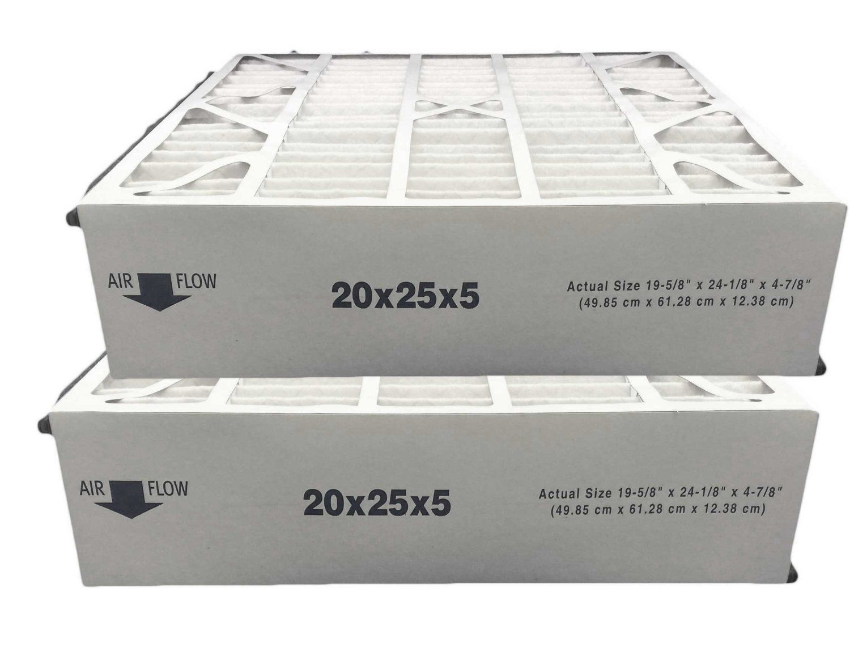 FilterBuy 20x20x1 MERV 13 Pleated AC Furnace Air Filter