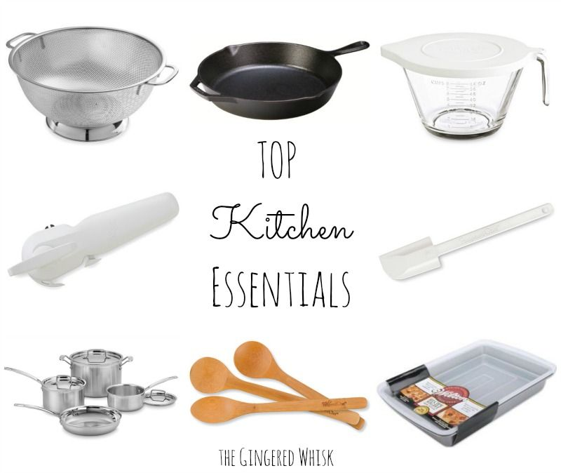 Top Kitchen Essentials Every Kitchen Needs - the basic cookware, bakeware and cooking gadgets you need!