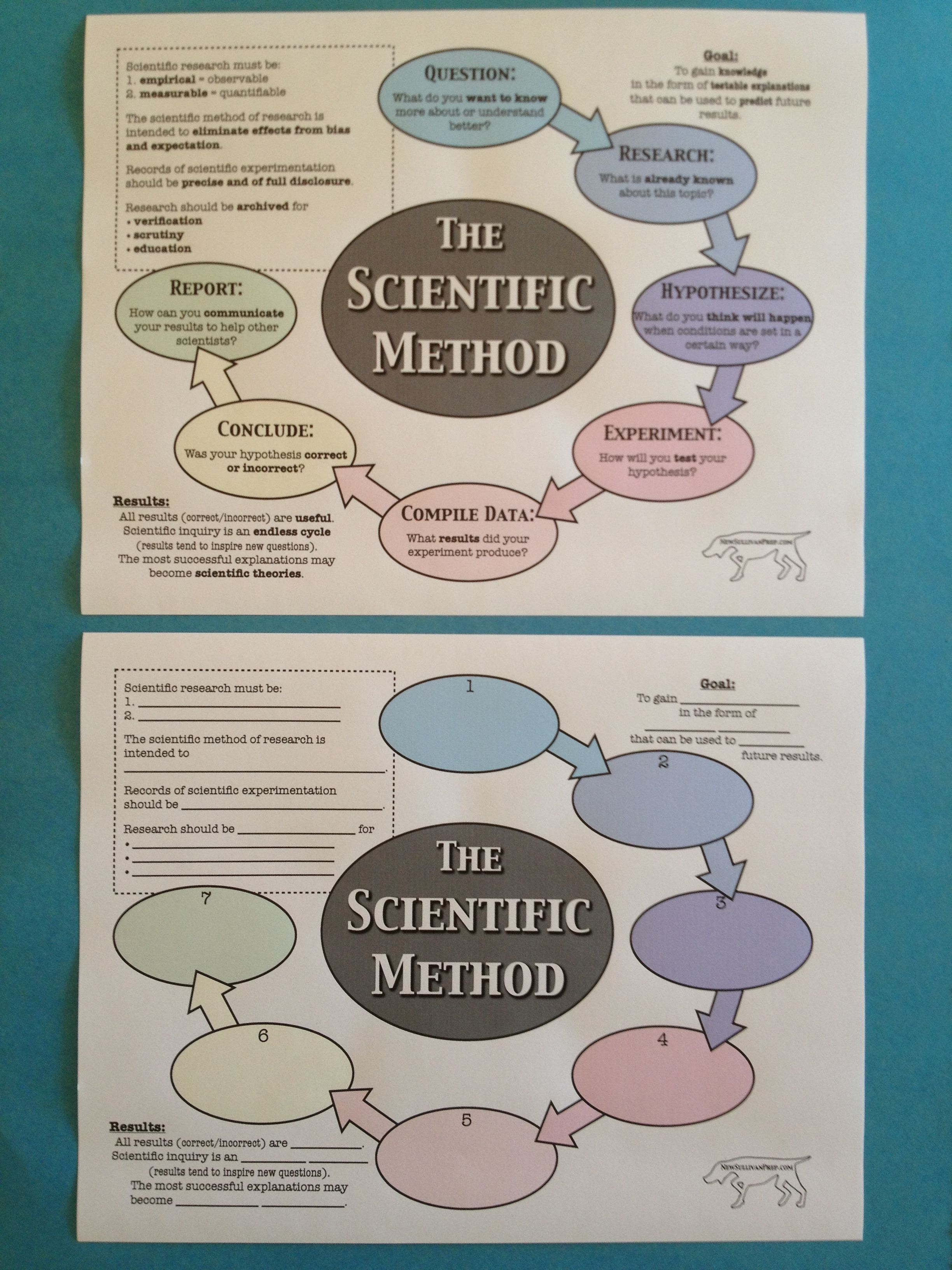 Free Scientific Method Worksheets From Newsullivanprep