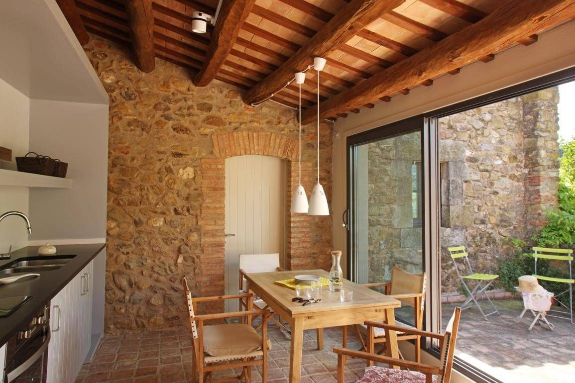 Ideas im genes y decoraci n de hogares cocinas r sticas for Decoracion cocinas rusticas campo
