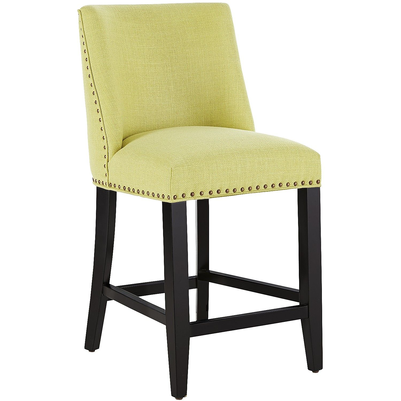 Green Corinne Counter Stool - Kiwi | *Chairs > Bar Stools ...