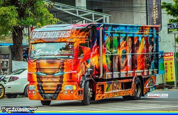 Truck Modifikasi Indonesia Di Instagram Tag Fotomu Dan Hastag Truckmodifiedindonesia For Repost Foto Pho Konsep Mobil Truk Besar Modifikasi Mobil