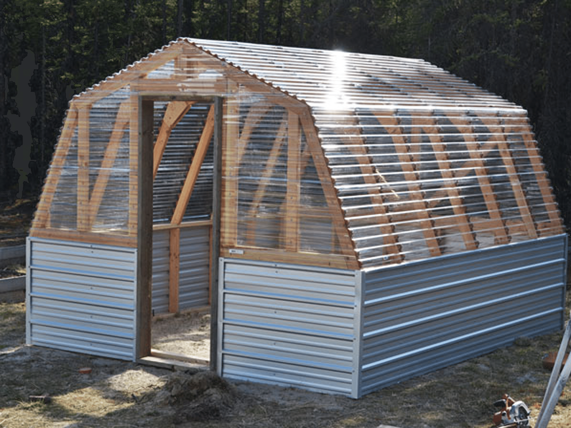 Build yourself a picnic table with one of these 13 free plans free greenhouse plans that will give you what you need to build a greenhouse in your solutioingenieria Choice Image