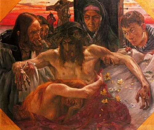 The Deposition - Lovis Corinth