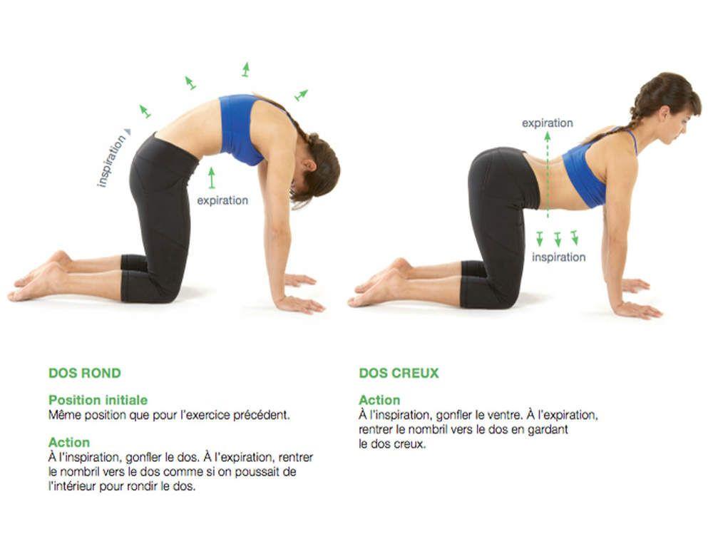 8 exercices pour lutter contre le mal de dos yoga pilates m ditation pinterest miracle. Black Bedroom Furniture Sets. Home Design Ideas