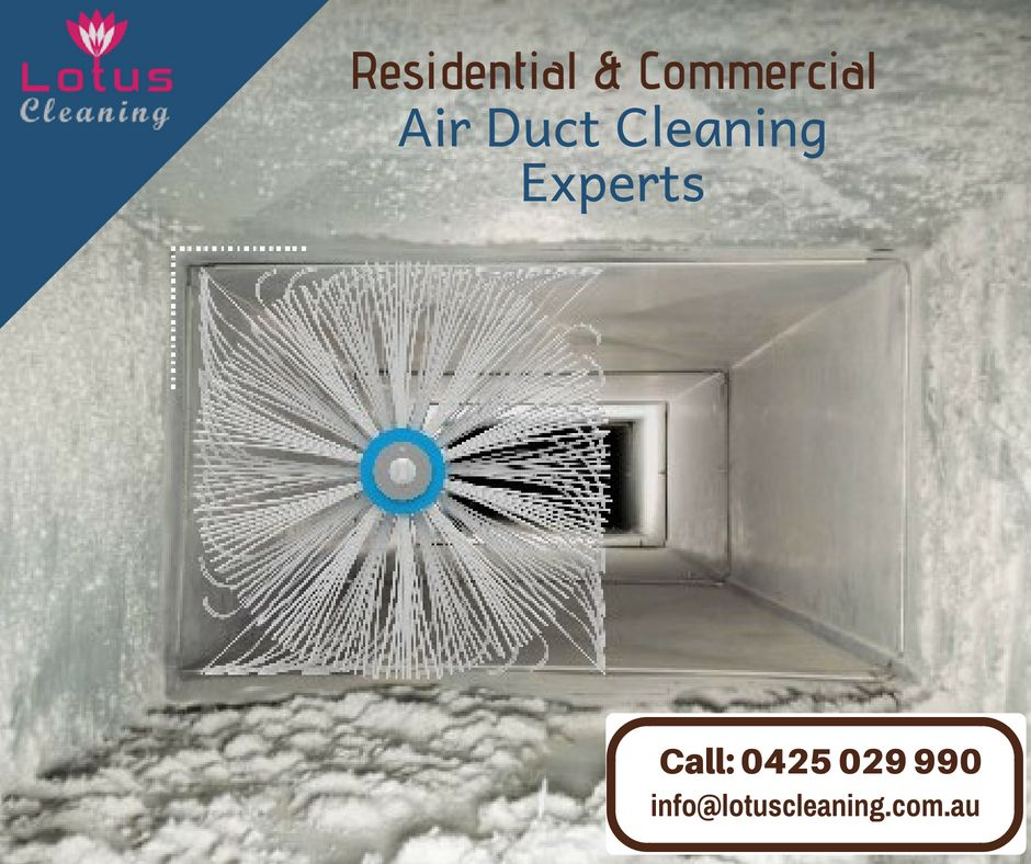 We provide completely ecofriendly Duct cleaning service