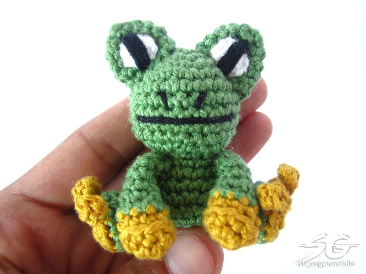 Amigurumi Frosch Anleitung Häkeln Pinterest Häkeln Frosch