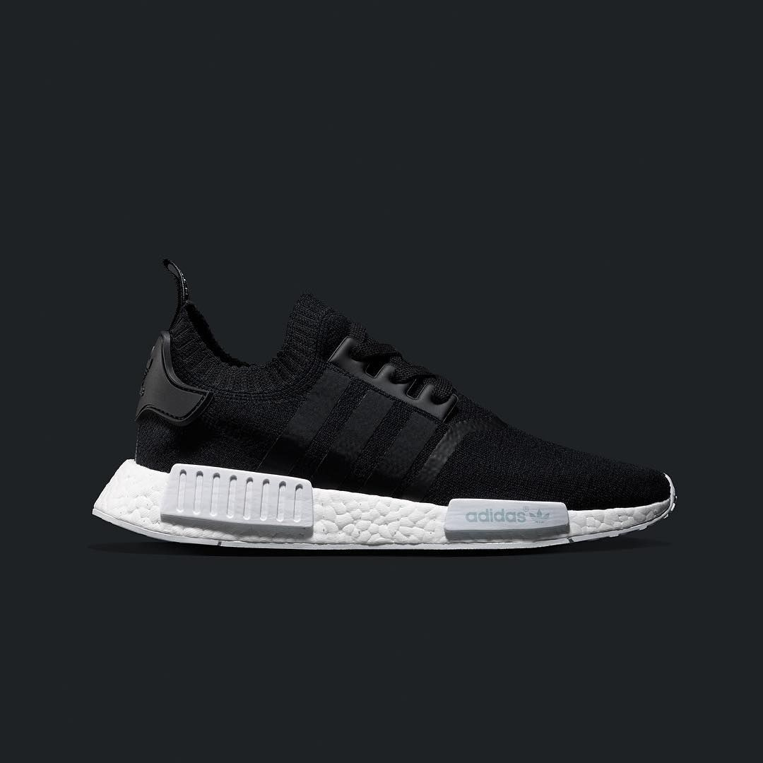 official photos ae46e d0f1e adidas NMD runner primeknit black | Shoes | Adidas nmd r1 ...