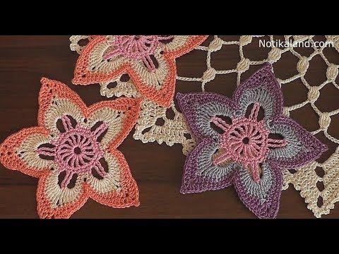 Youtube Pinterest Crochet Flowers