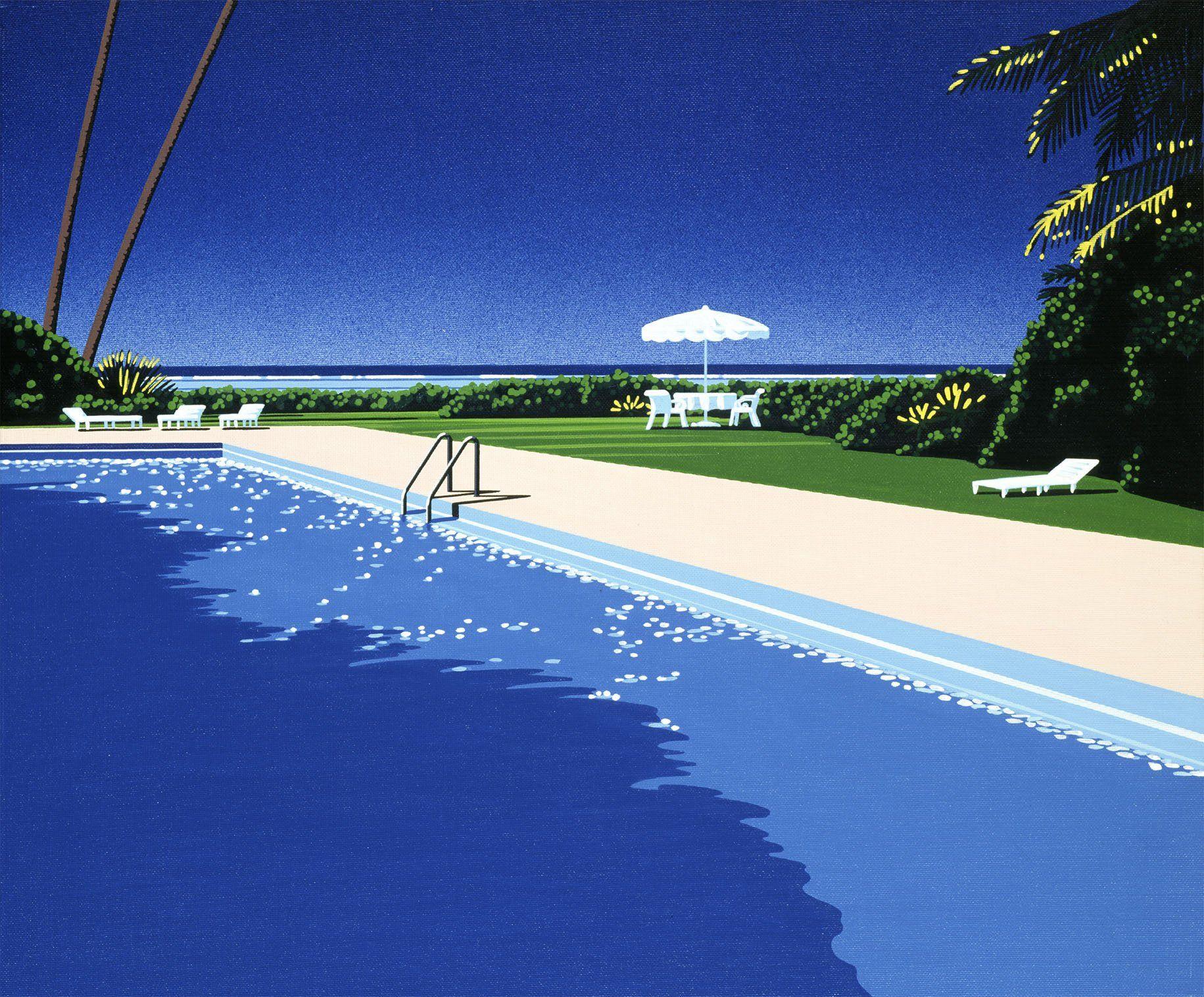 Hiroshi Nagai | Home art, Landscape, Art
