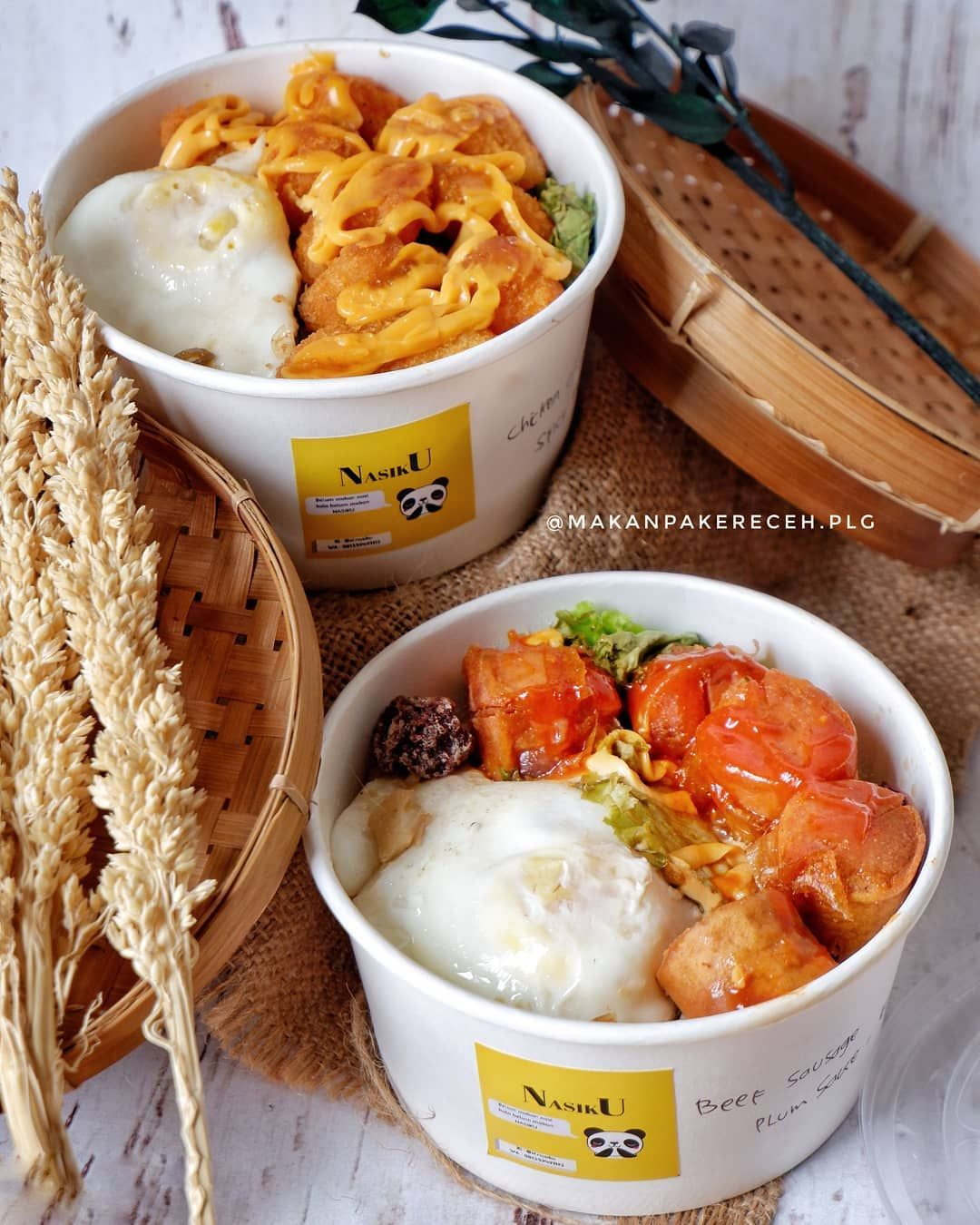 Ricebowl Nasiku Makanan