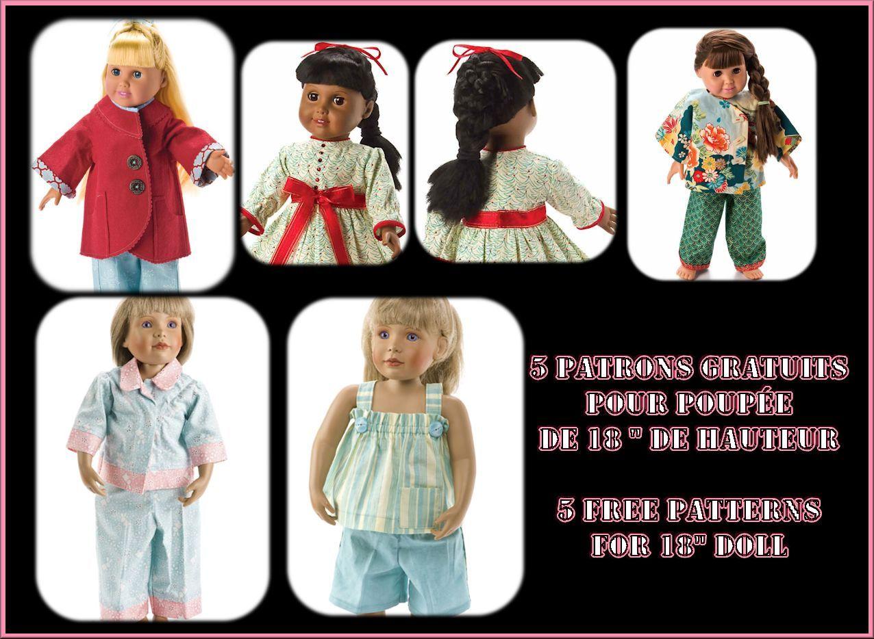 Frugal Lot 3 Pages Grand Format De Présentation Poupées Bella Antique (pre-1930) Dolls & Bears