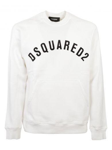 DSQUARED2 Dsquared2 Vintage Logo Sweatshirt.  dsquared2  cloth  https   Sweatshirts Vintage d919dec26b8b