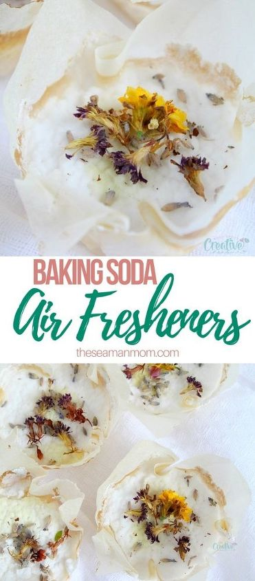 DIY Air Freshener Discs in 2020 Baking soda, Baking soda