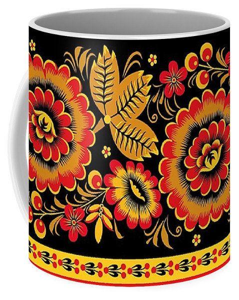 Khohloma mug ceramic coffee mug11 and 15 oz russian easter items similar to khohloma mug ceramic coffee and 15 oz russian easter gift mugkids woman santa christmas coffee mugexcellent gift birthday on etsy negle Image collections