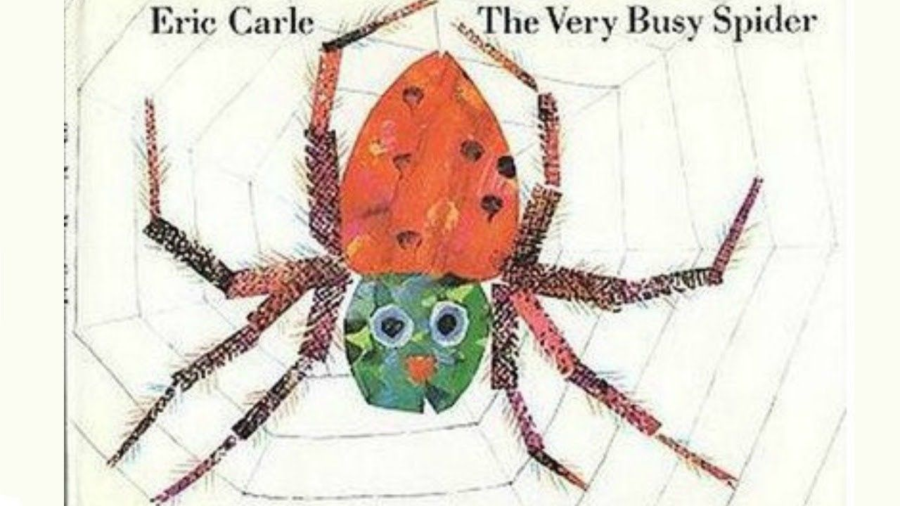 The Very Busy Spider Read Aloud Book - By Eric Carle