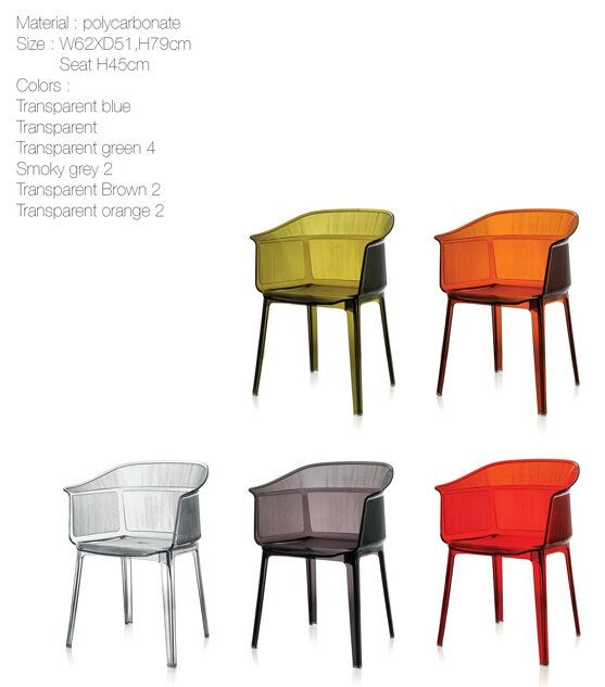 Stacking Chair In Polycarbonate With UV Resistance  Http://www.rongfuoffice.com