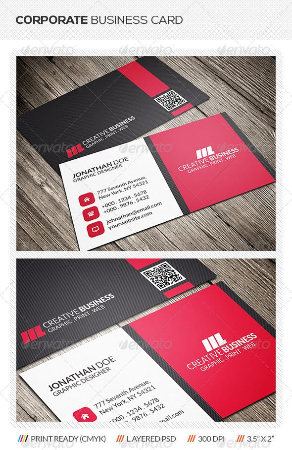 Corporate business card pinterest corporate business business corporate business card graphicriver corporate business card template this creative corporate business card template is suitable for both business and reheart Choice Image