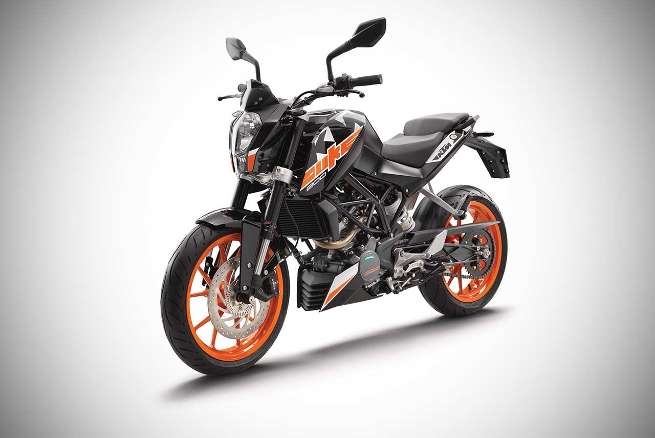 2018 KTM 200 Duke ABS Priced at INR 1.6 Lakh in India