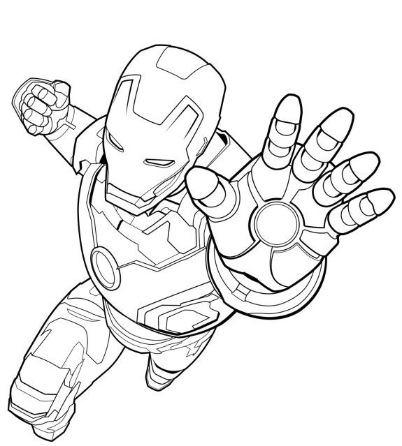 Beautiful Coloring Page Iron Man Hd 2 Marvel Coloring Avengers Coloring Superhero Coloring Pages