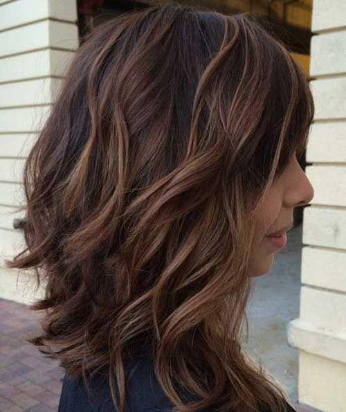 Inverted bob hairstyles 2016 brown hair bob the best for Long bob braun