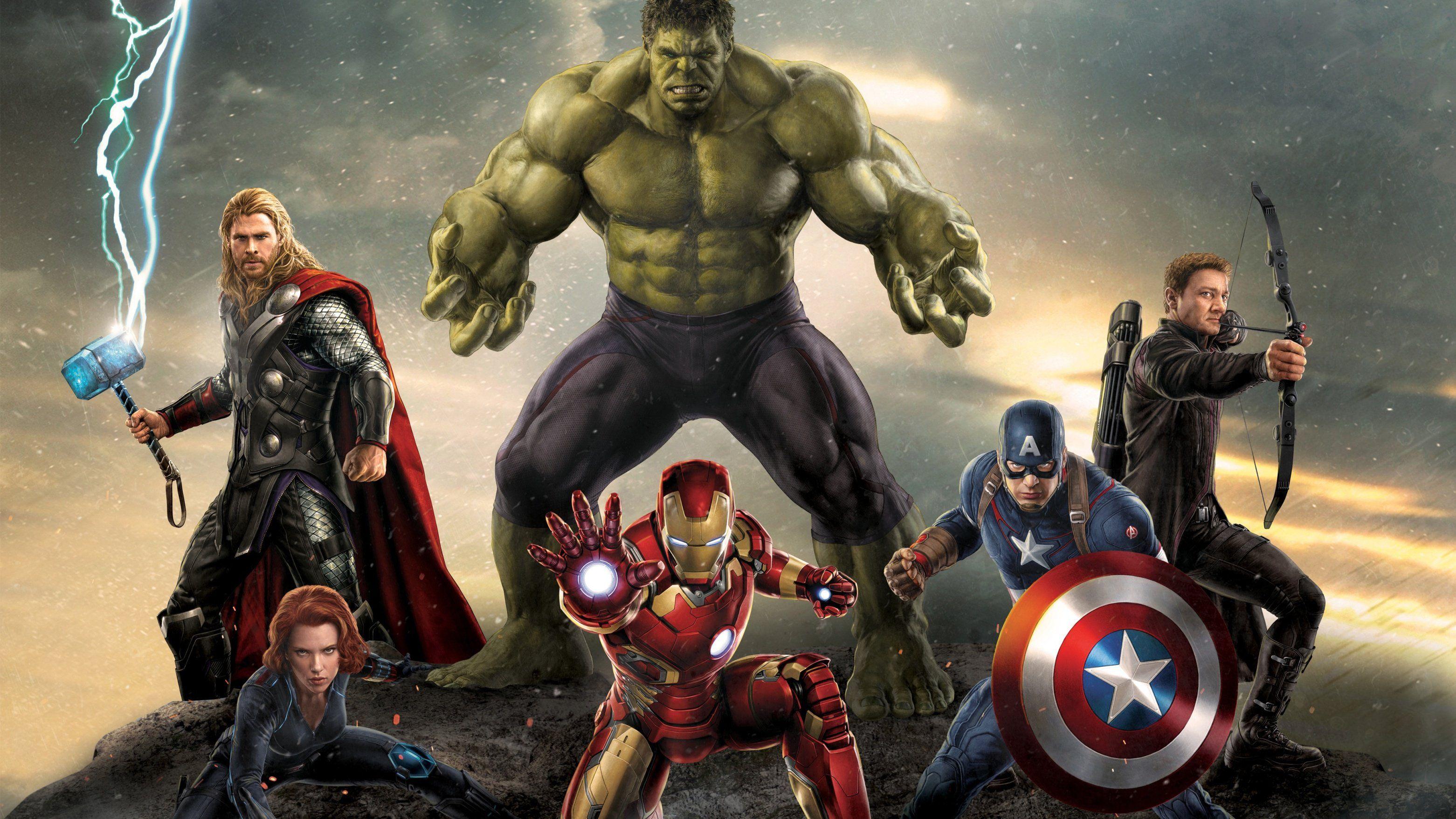 Wallpapers Ultra Hd 4k Llevate Alguno Super Heroes Hulk