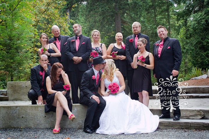 2 the 9s Photography Wedding Bridal Party Portrait Photoshoot