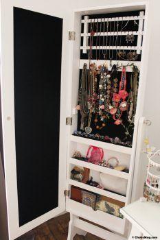 Interieur Miroir Armoire Range Bijoux Home Makeover