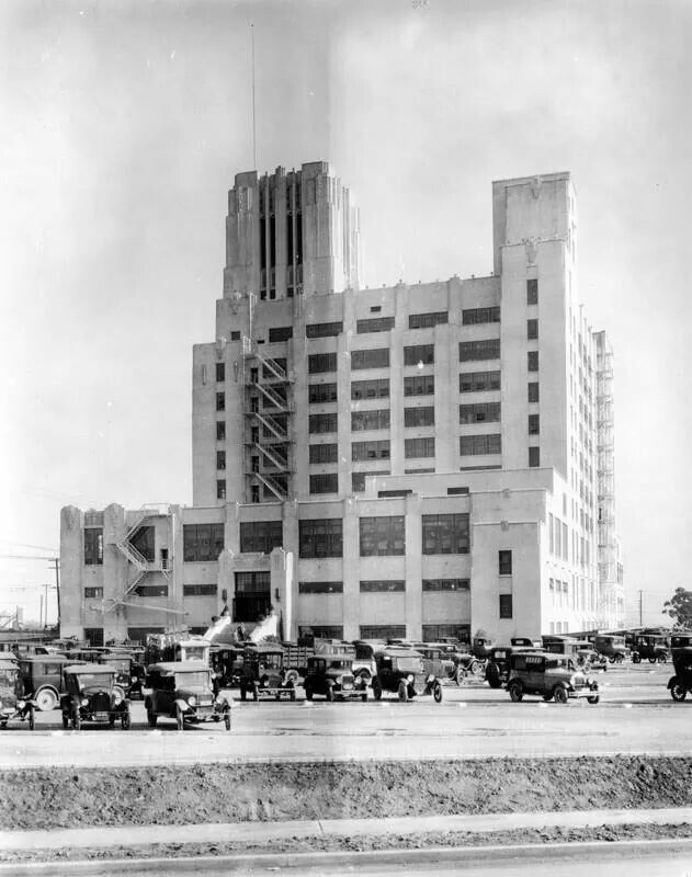 Sears Building Circa 1930 East Los Angeles Boyle Heights City Of Angels