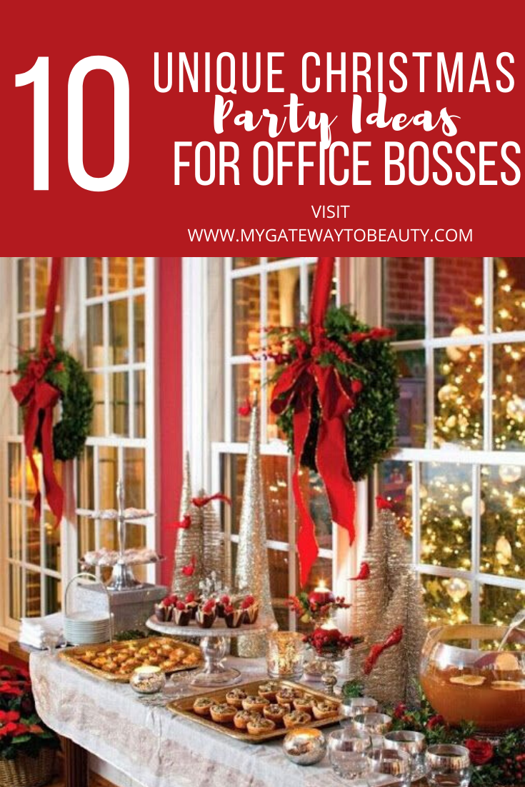10 Office Christmas Parties Ideas Christmas Party Themes Office Christmas Party Christmas Party Activities