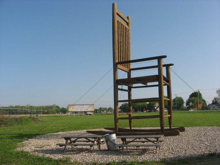 John World S Largest Rocking Chair Amity Indiana Long Furniture