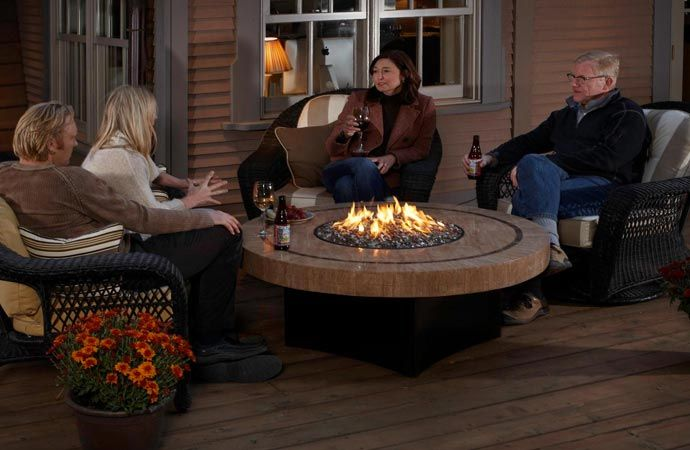 Fire table - SAHARA FIRE TABLE BY ORIFLAMME Fire Pit Pinterest Fire Table