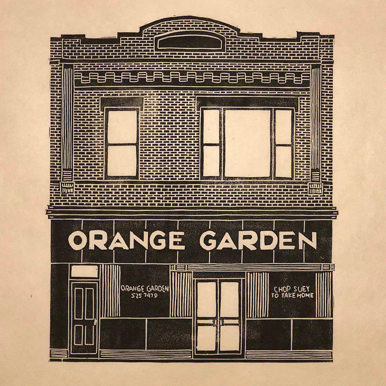 Preservation Chicago Pres Chicago Twitter Orange Garden On Irving Park Near Lincoln Damen Probably Chicago S Olde House Illustration Chicago Art Art Deco
