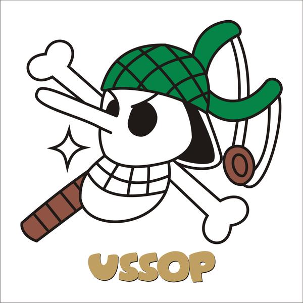 Ussop Jolly Roger Jolly Roger One Piece Tattoos Usopp