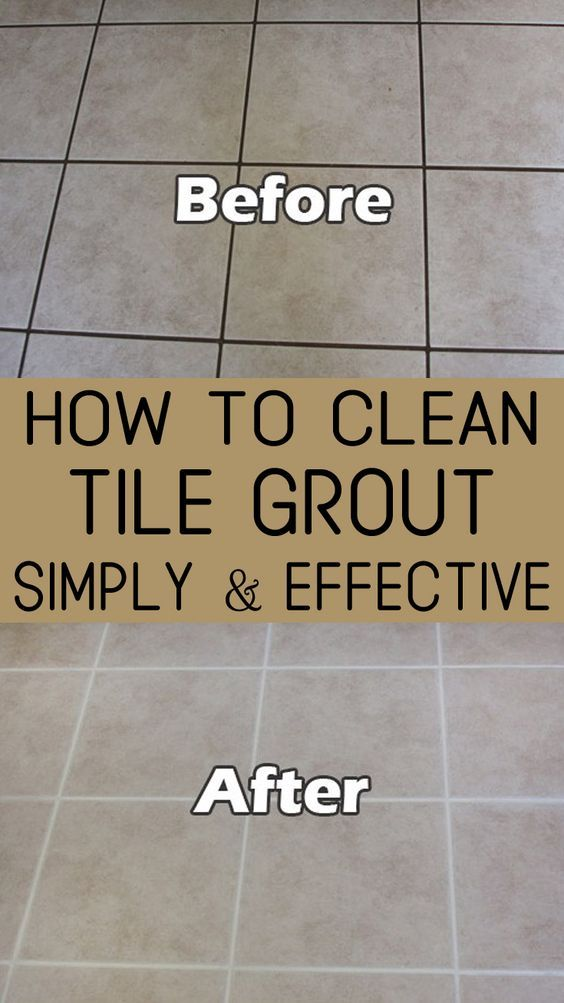 How To Clean Tile Grout Simply And Effective Cleaning - Badkamer Schoonmaken Soda