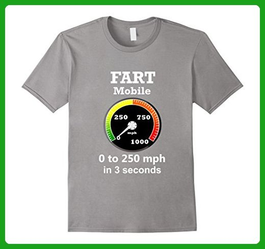 Mens Fart Shirt Mobile Funny Birthday For Adults Kids 3XL Slate