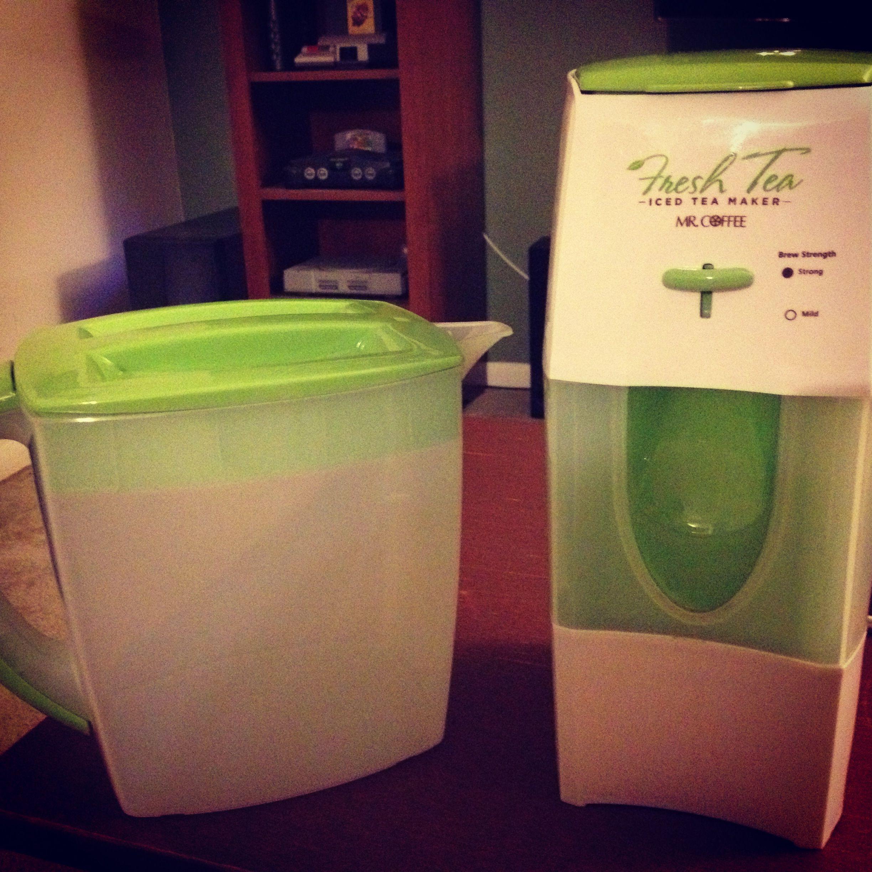 Mr.coffee Fresh Tea, Ice Tea Maker D (With images) Iced