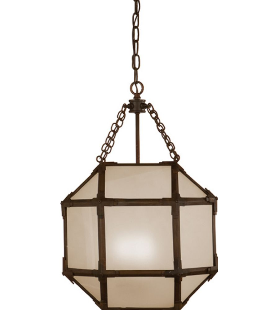 Visual Comfort Sk 5008az Fg Suzanne Kasler Casual Morris Small Lantern In Antique Zinc With