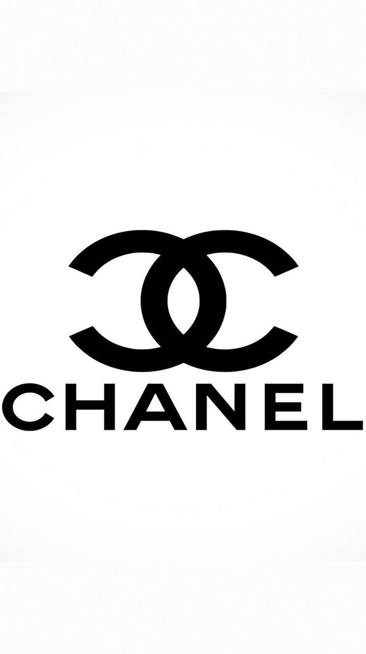 Chanel wallpaper black and white