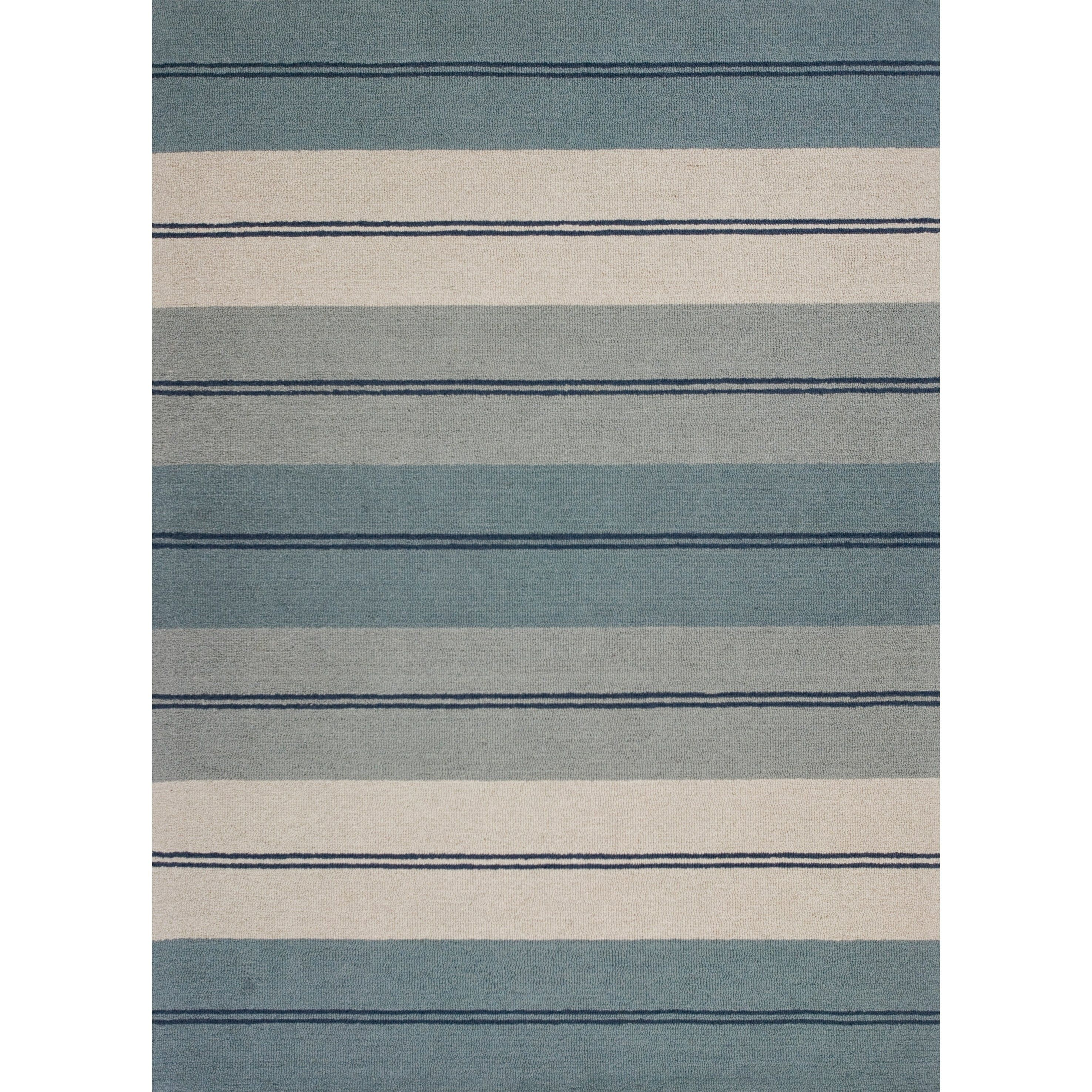 Domani Bryant Ivory Blue Striped Area Rug In 2020 Rugs Area Rugs Oriental Rug