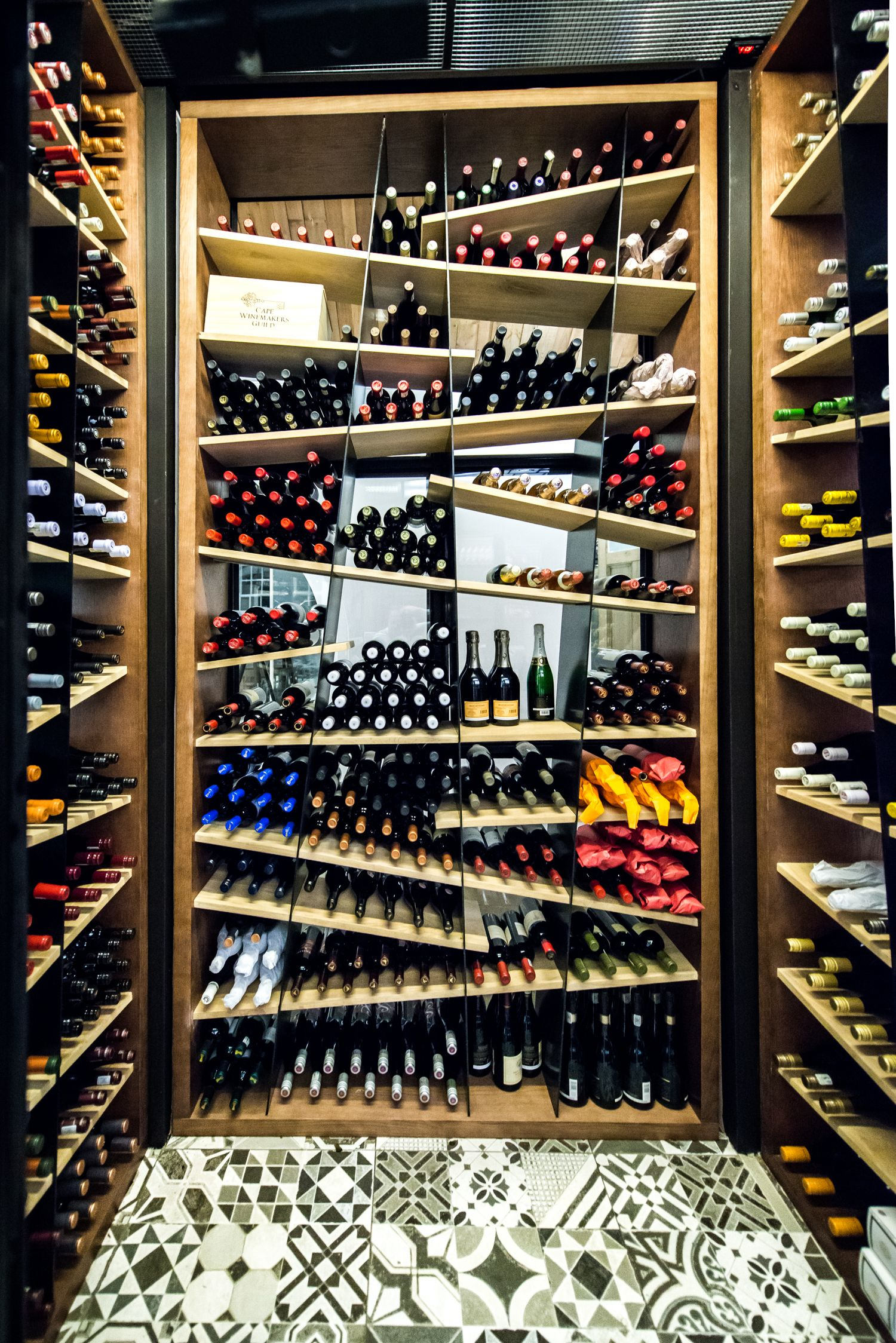 Tramshed Shoreditch: Wine Display Image By Quintin Gilman On Wine