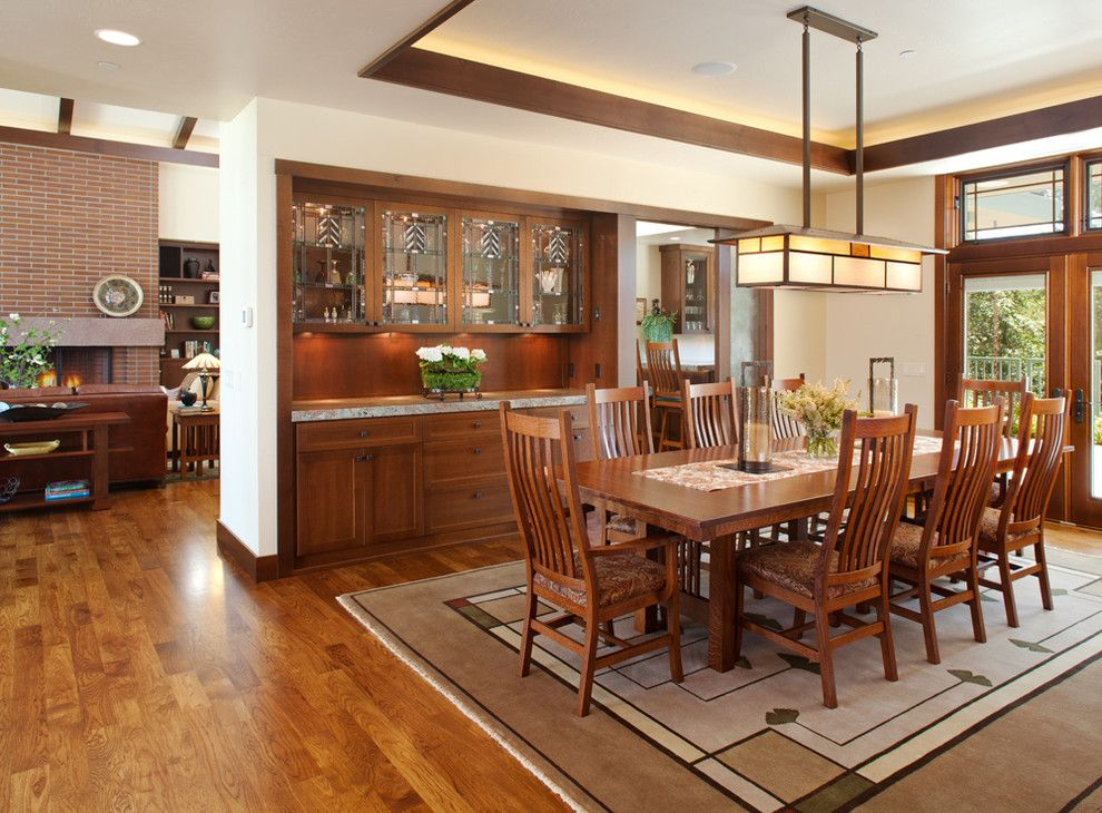 Craftsman Dining Room Design Craftsman Dining Room Dining Room Lighting Dining Room Buffet