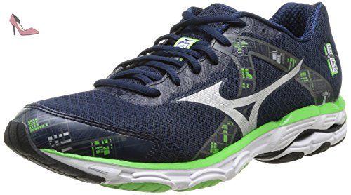 Mizuno Wave Inspire 10, Chaussures de course pour homme bleu