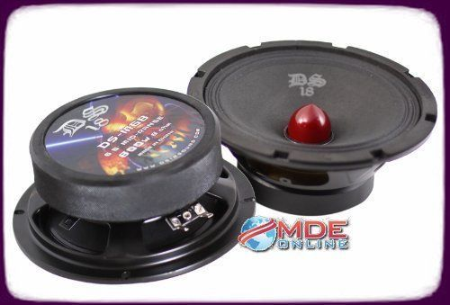 d9073670243d304357b9dc4bb948bd9b ds18 ds m6b 6 inch 800w peak 400w rms bullet mid speaker DS18 Amplifiers at readyjetset.co