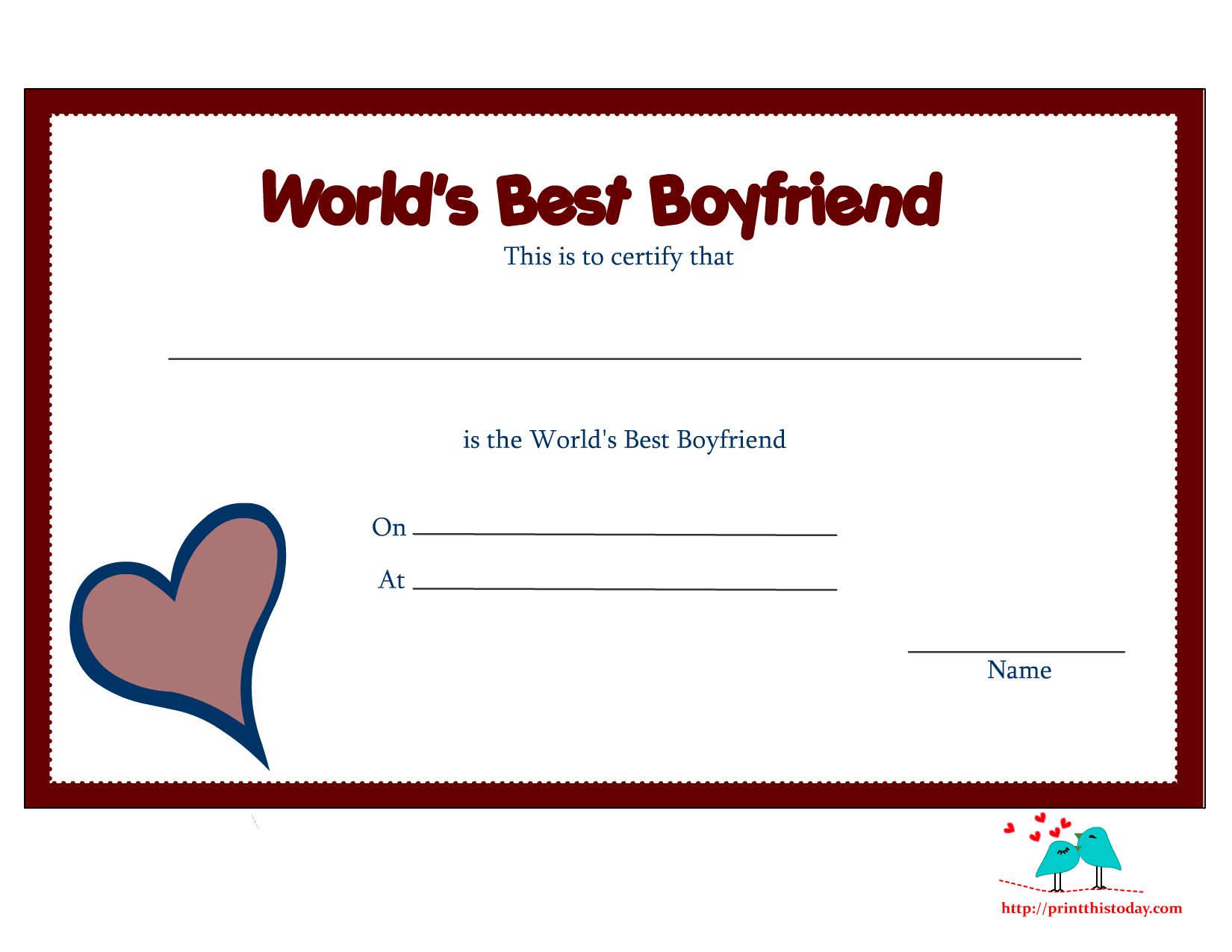 printable award certificate borders printable world s printable award certificate borders printable world s best boyfriend certificates print this