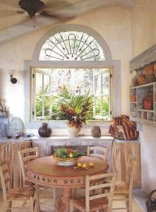 Interesting Metal Work In The Top Arch And Casement Windows That Endearing Panama Dining Room Design Inspiration