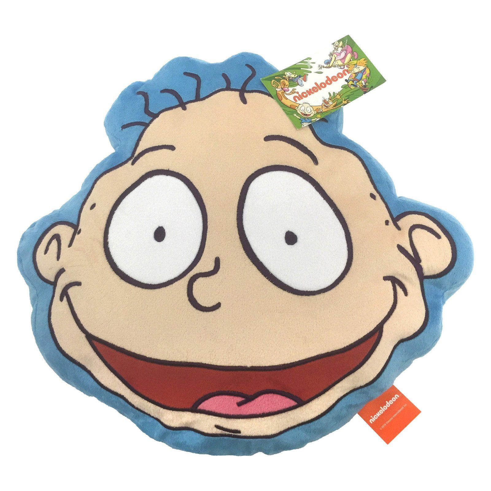 Tommy Pickles Ice Cream Tattoo On His Face: 90s Rugrats Tommy Pickles Face Pillow By Nickelodeon In