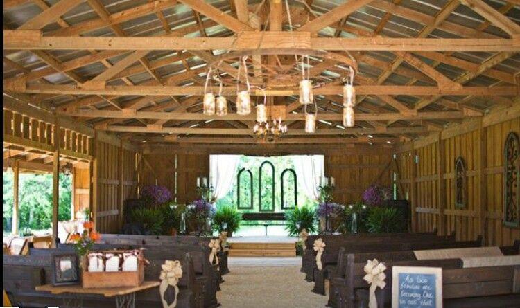 Barn/rustic wedding