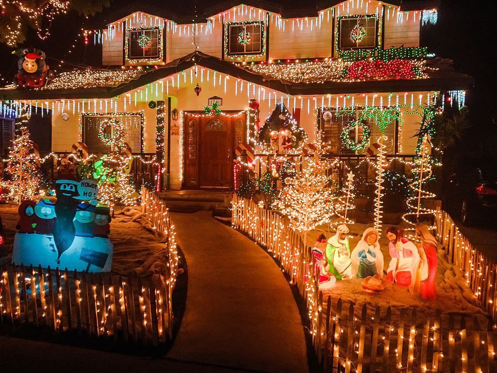 The Most Extravagant Christmas House Light Decorations Outdoor Christmas Decorations Christmas House Lights Outdoor Christmas